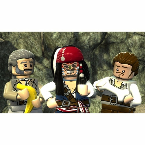 lego pirates caribbean 3ds
