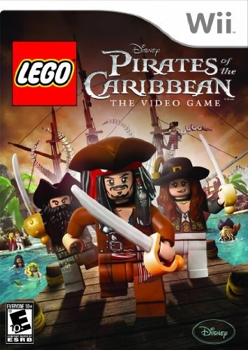 lego pirates of the caribbean - nintendo wii!