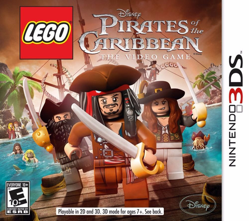 lego pirates of the caribbean: the video game - nintendo 3ds