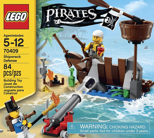 lego pirates shipwreck defense (70409)