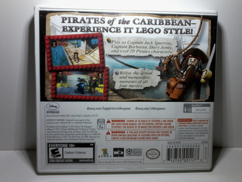 lego pirates the caribbean 3ds