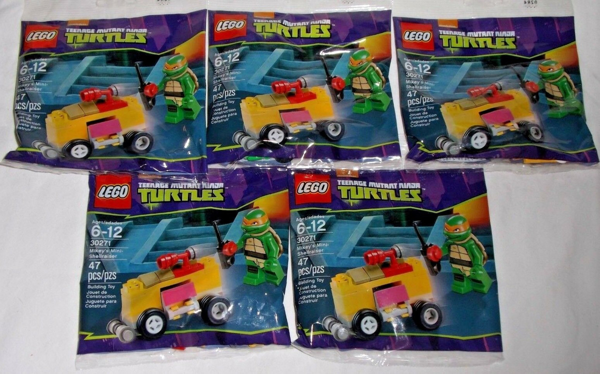 30271 Teenage Mutant Ninja Turtles Shellraiser Set Brand New Lego Polybag