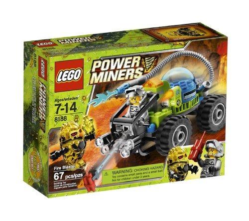 lego power miners fire blaster (8188)