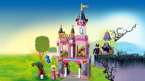 lego princess: castillo del cuento de la bella durmiente