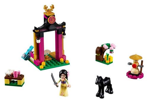 lego princess: dia de entrenamiento de mulan + regalo