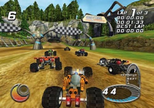 lego racers 2 - ps2 - frete grátis