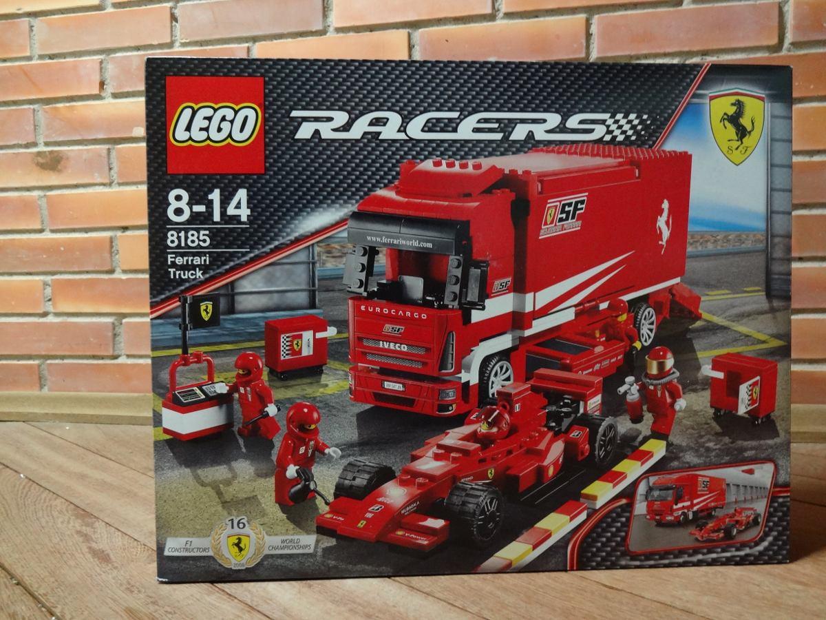 Ferrari Truck LEGO Racers 8185