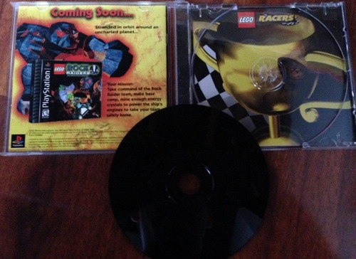 lego racers /  playstation 1 ps1 compatible ps2 ps3 usa 12