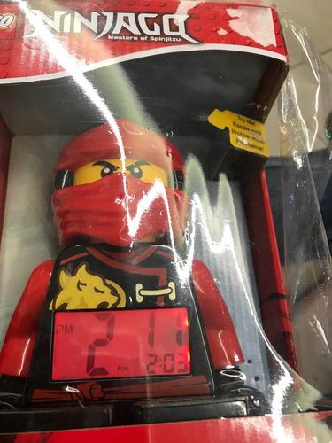 lego reloj despertador de ninjago