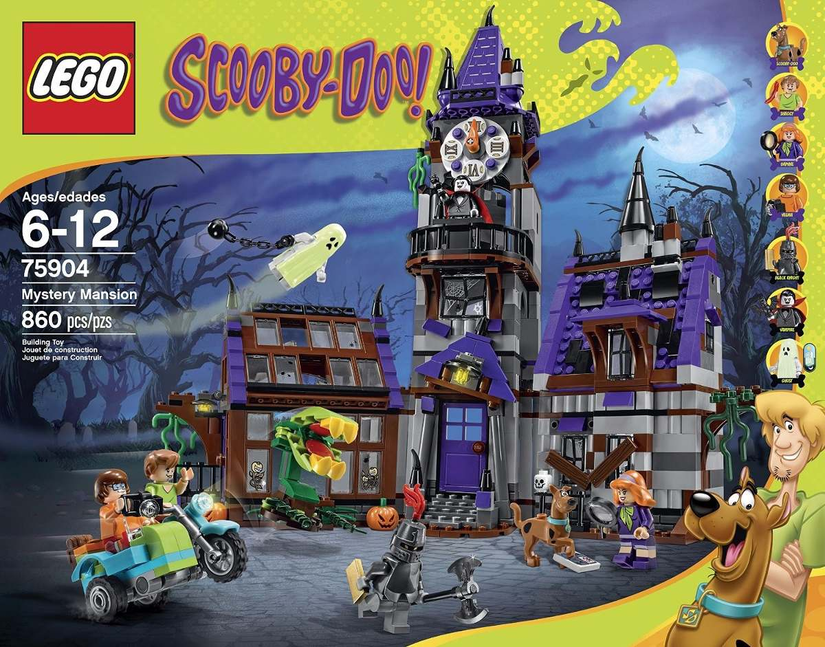 Mansion Lego Scooby Mystery 75904 Building Doo Kit tQCrdxsh