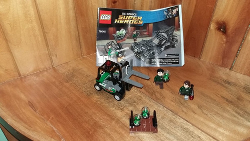 lego secuaz lexcorp lex luthor vehiculo kriptonita batman