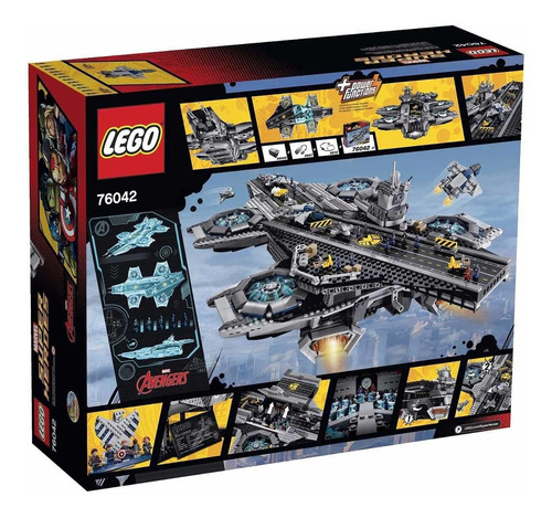 lego set 76042 the shield helicarrier - super heroes