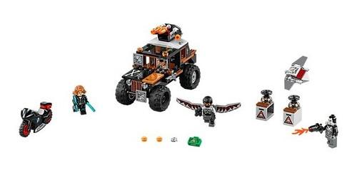 lego set super heroe civil war crossbones hazard heist 76050
