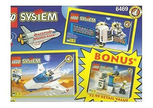 lego space port bonus value pack (6469)