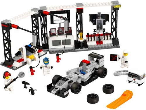 lego speed champions:  mclaren mercedes