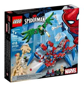 Buitre Ofer Sandman Y Lego Spider Man Araña Reptadora 418pzs 4Rj5AL3