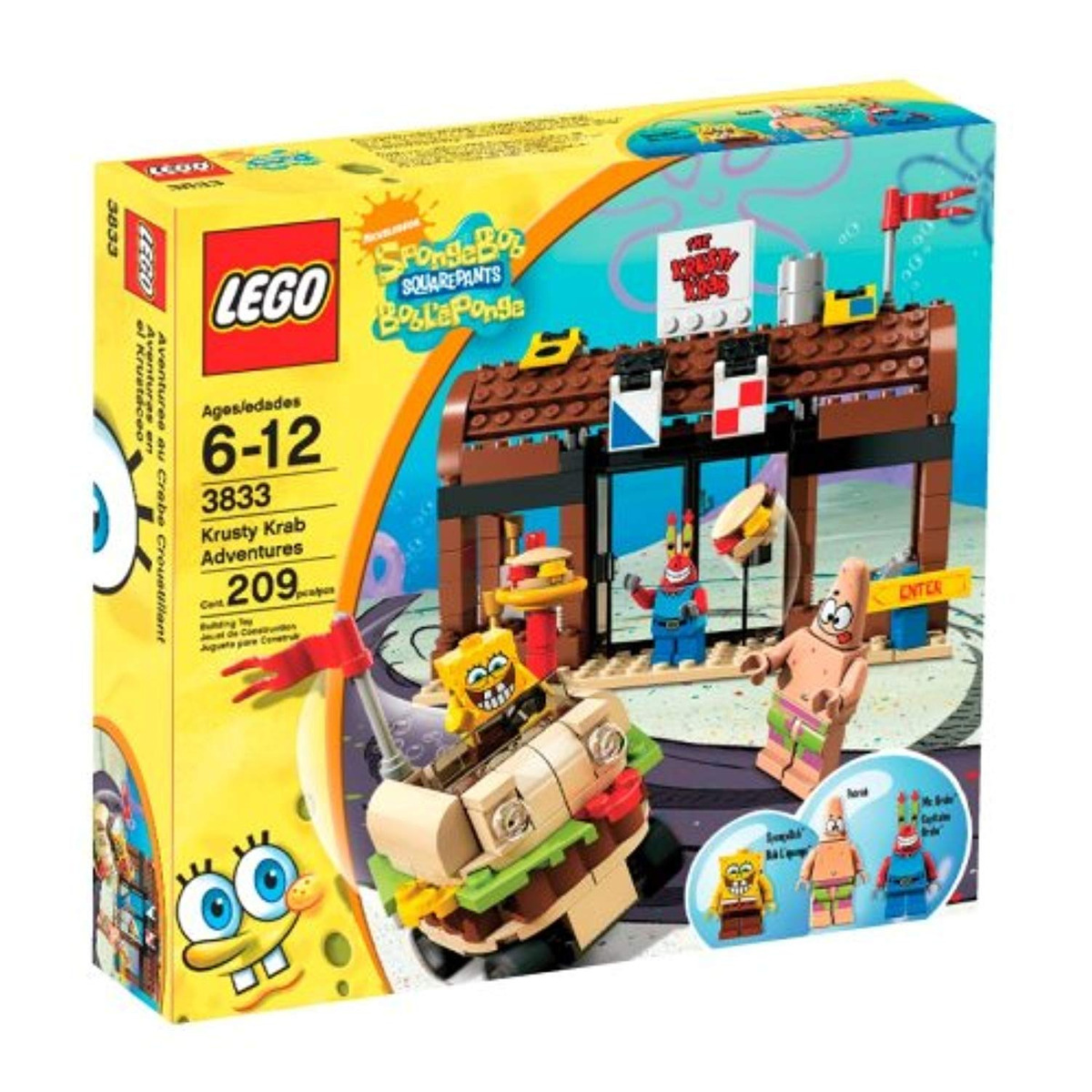 Krab Krusty Squarepants Spongebob Lego Adventures wPn0k8O