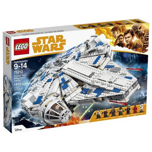 lego star war wars kessel run millennium 75212 kit 1414 pcs