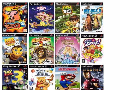 lego star wars 2 mais 20 jogos diversos ps2 (play station 2)
