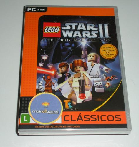 lego star wars 2 trilogy | pc mídia física original lacrado
