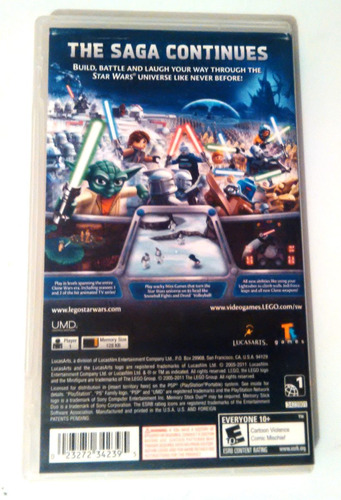 lego star wars 3 psp play station portable