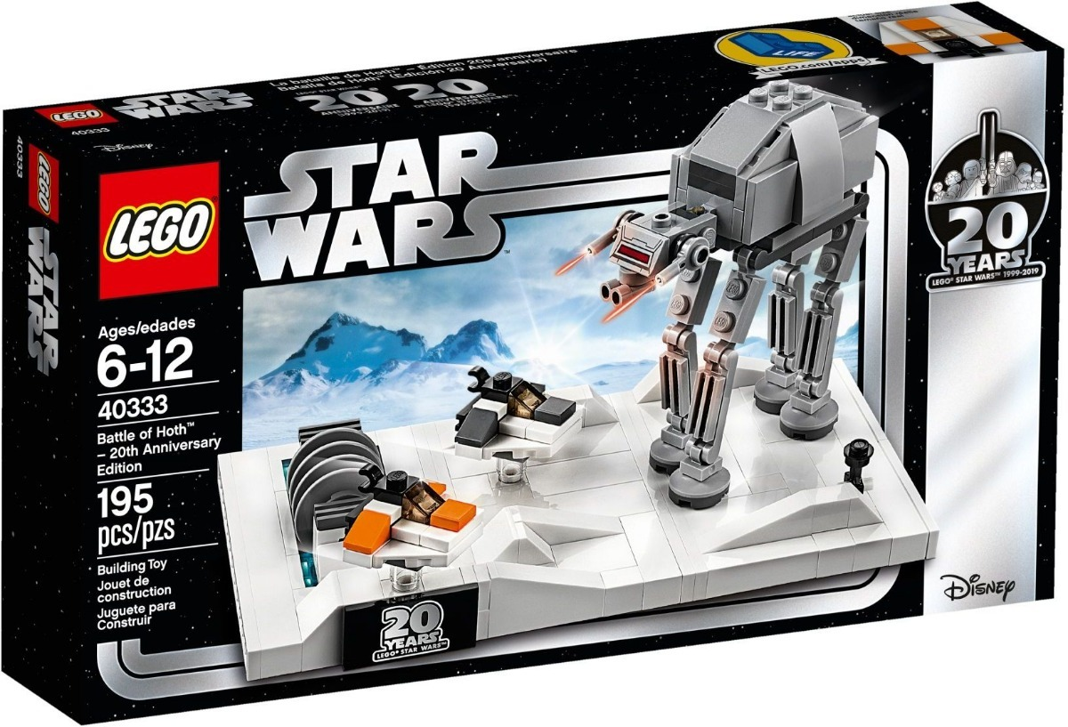 20 Lego Battle 40333 Hoth Star Anivers Wars Of Ml Unico 2019 QChdsrt