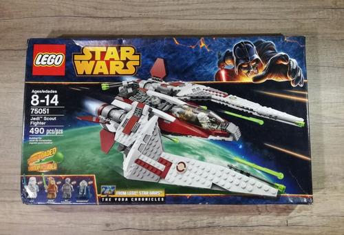 lego star wars 75051 jedi scout fighter 100%original y nuevo