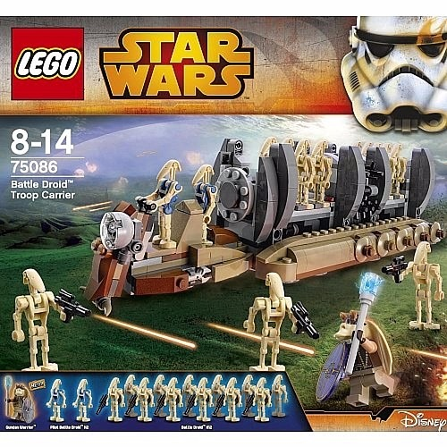 Lego Star Wars 75086 Battle Droid Troop Carrier Oferta!!!! - $ 1.800 ...