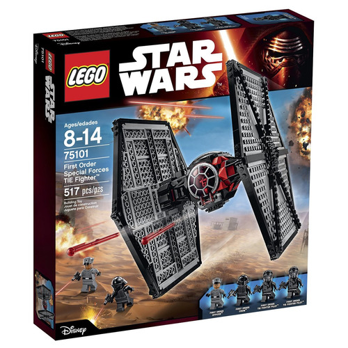 lego star wars 75101 first order special forces tie fighter.