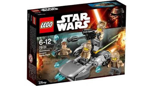 lego star wars 75131 resistance trooper battle pack