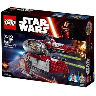 lego star wars 75135 obi-wan´s jedi interceptor