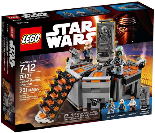 lego star wars 75137 carbon-freezing chamber 2016