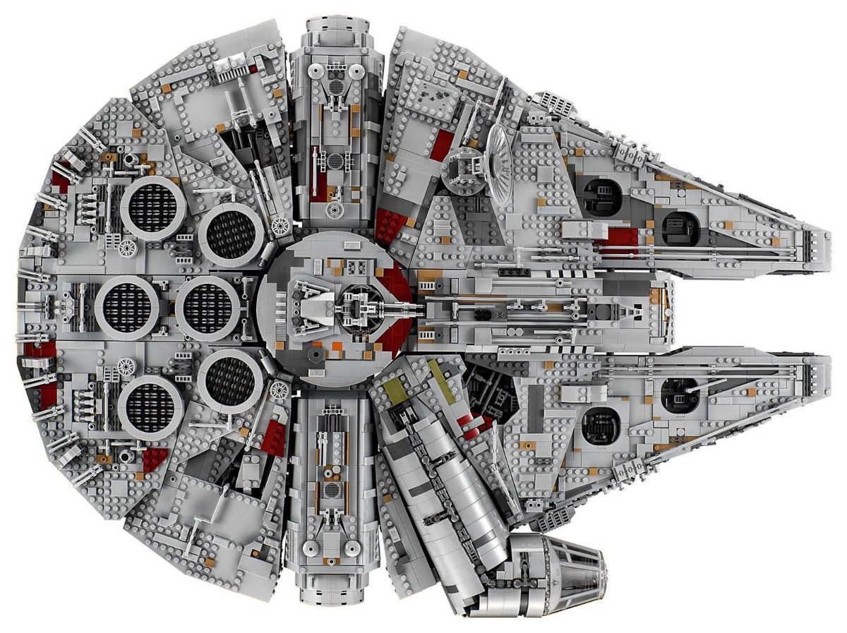 Lego Star Wars 75192 - Millennium Falcon - R$ 6.495,00 em Mercado Livre