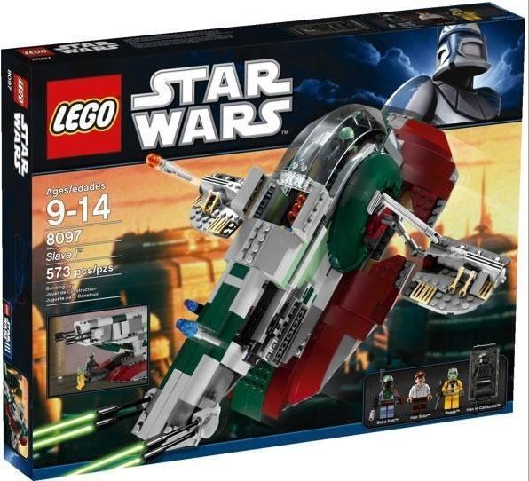 Lego Star Wars 8097 Slave 1 Nuevo Sellado Boba Fett 573 Pzs