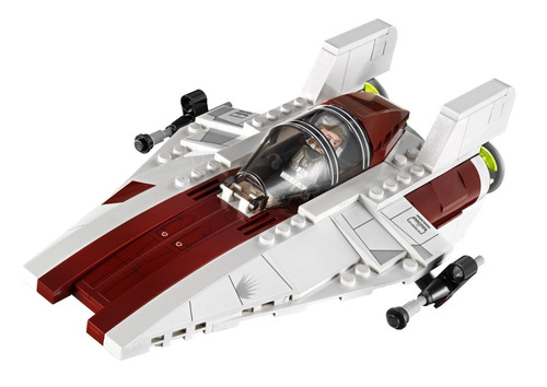 lego star wars a - wing starfighter modelo 75003