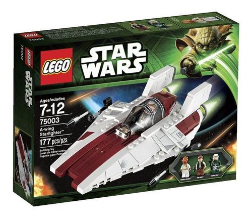 lego star wars a - wing starfighter modelo 75003