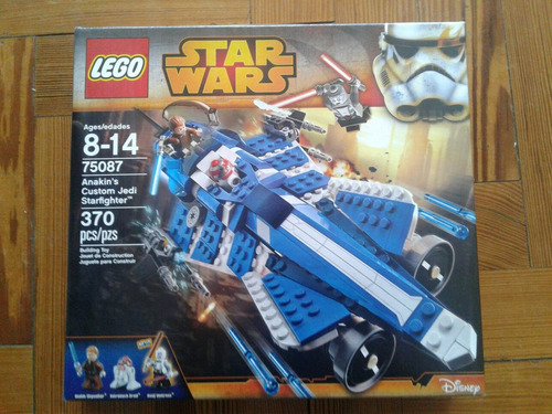 lego star wars anakin custom jedistarfighter oferta!