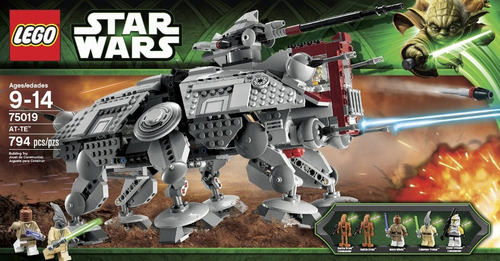 lego star wars at - te modelo 75019