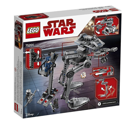 lego star wars - caminante imperial - at-st walker 75153