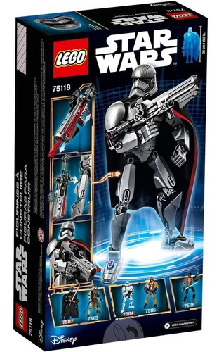 lego star wars capitan phasma 75118 (3253)