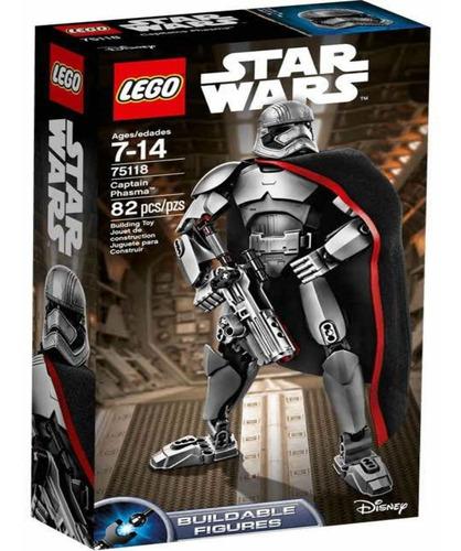 lego star wars capitan phasma 75118