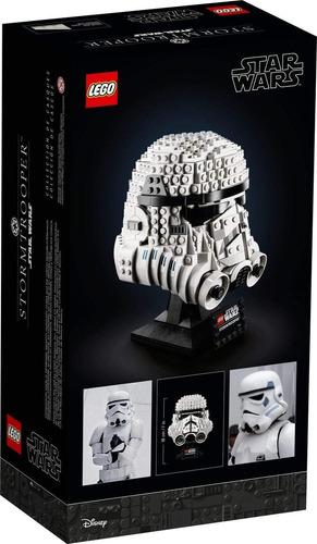 lego star wars casco de soldado de asalto storm trooper 7527