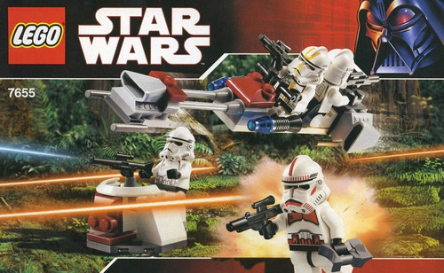lego star wars clone troopers battle pack 7655 2007 muy raro