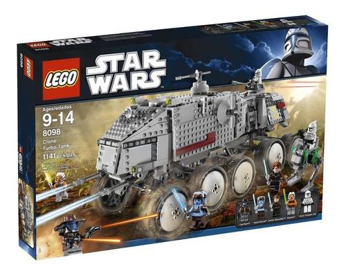 lego star wars clone turbo tank modelo 8098