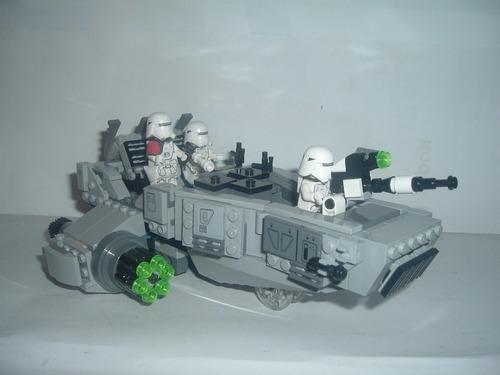 lego star wars el despertar de la fuerza snowspeeder