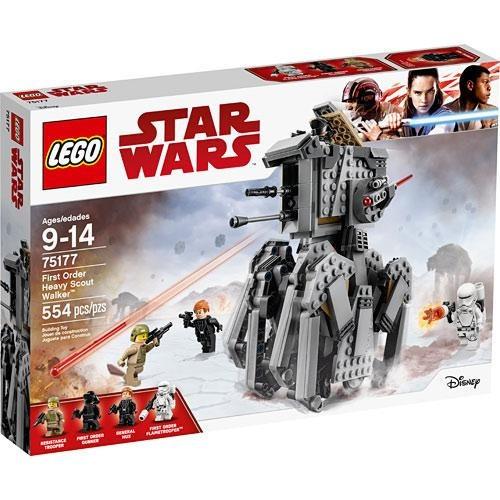 lego star wars, first order heavy scout walker