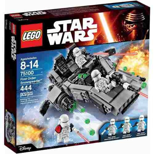 lego star wars first order snowspeeder ref: 75100
