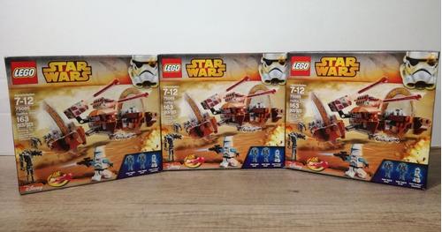 lego star wars hailfire droid 163 pzs modelo 75085 nuevo