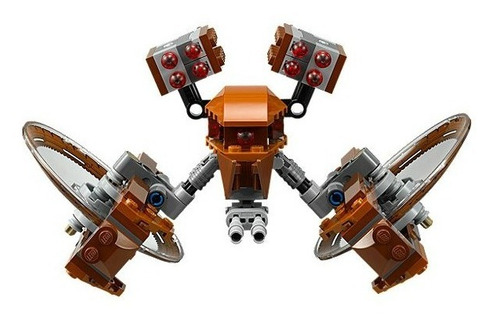 lego star wars: hailfire droid