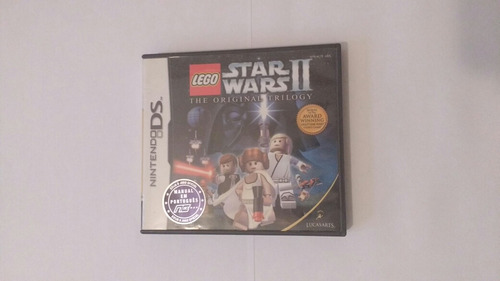 lego star wars ii - the original triology - nintendo ds